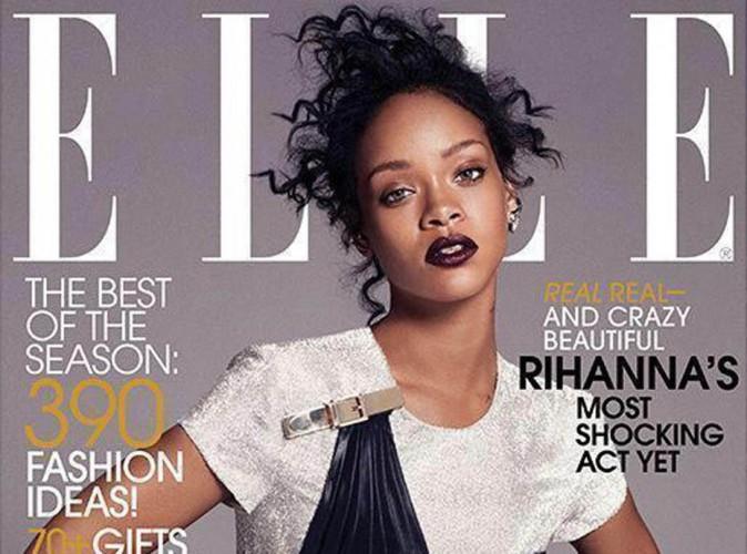 Rihanna : un portrait au naturel pour le magazine Elle !