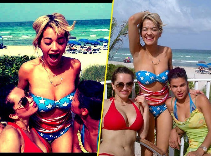 Rita Ora : elle s'éclate sur une plage de Miami !