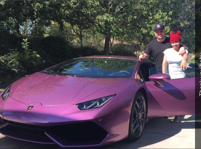Rob Kardashian : Après la bague, une Lamborghini pour Blac Chyna!