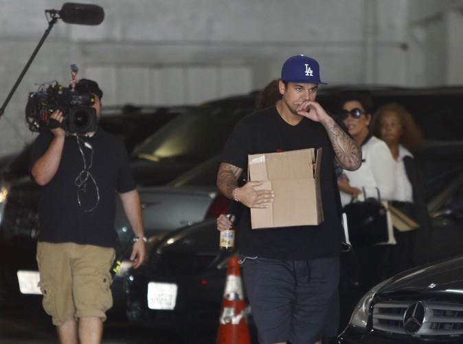 """Rob Kardashian : dégoûté, il pense que la téléréalité a """"détruit sa famille"""" !"""