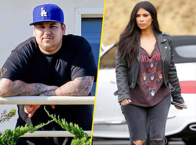 Rob Kardashian : furieux contre Kim, il ne veut plus entendre parler d'elle !