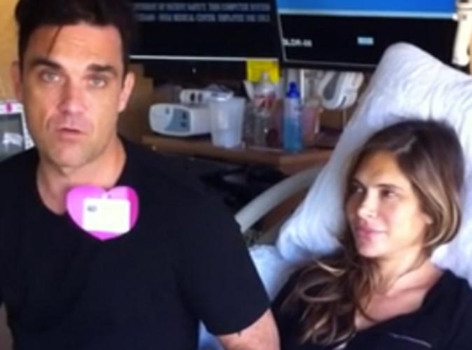 Robbie Williams : son petit garçon né quasiment en direct sur Twitter !