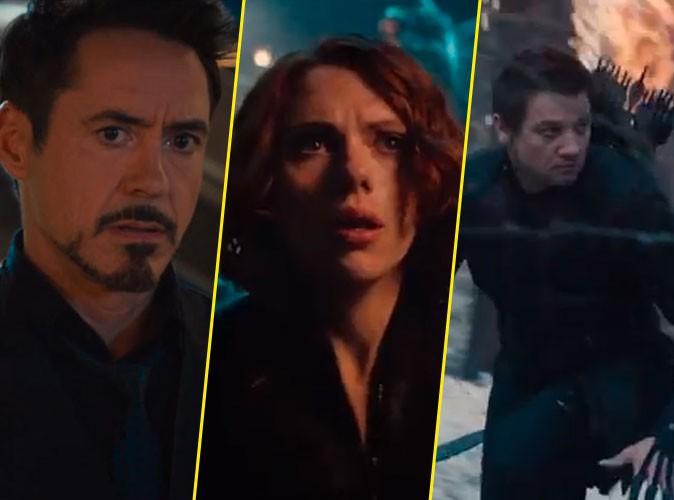 """Robert Downey Jr, Scarlett Johansson, Jeremy Renner : le premier trailer d'""""Avengers 2"""" dévoilé !"""