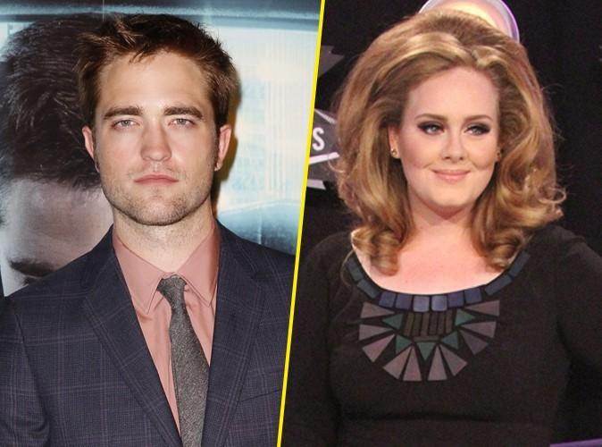 Robert Pattinson : alcoolisé il s'embrouille avec Adele…