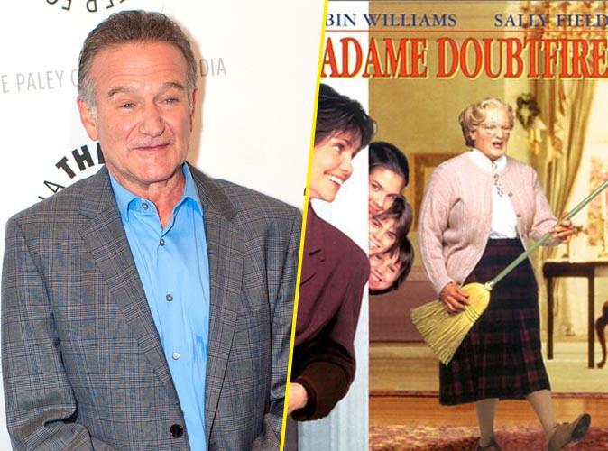 Robin Williams : il va renfiler son fameux costume de Madame Doubtfire !