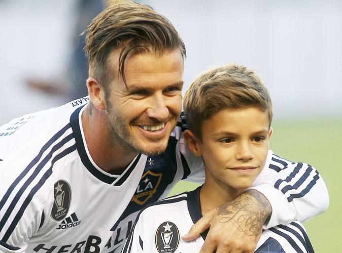 Romeo Beckham : 10 ans et un tatouage dans le cou comme papa !