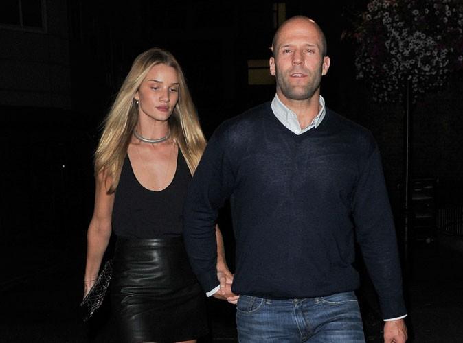 Rosie Huntington-Whiteley et Jason Statham : repérés main dans la main à Paris... C'est donc reparti entre les deux amoureux !