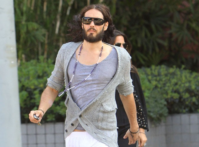 Russell Brand : l'ex de Katy Perry s'est fait arrêter ! (réactualisé)