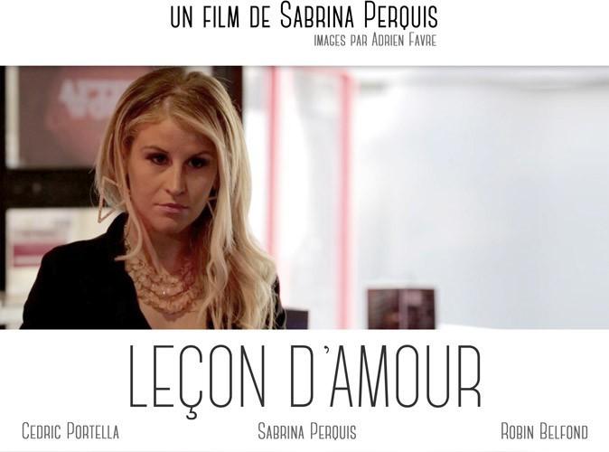 Sabrina Perquis (Secret Story 5) : elle présente son premier court-métrage, Leçon d'Amour !