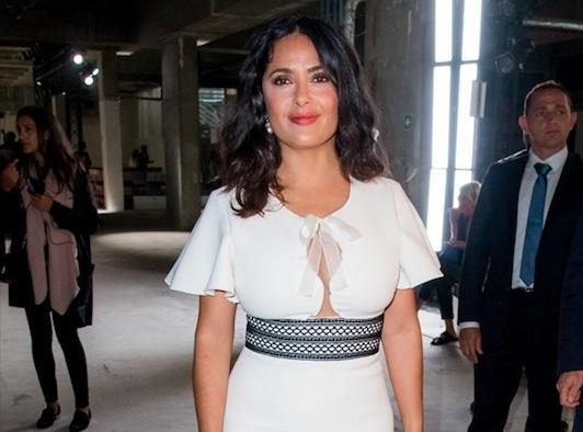 Salma Hayek : Elle s'éclate avec Cristina Cordula !