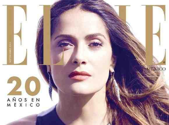 Salma Hayek : elle s'offre la couverture de ELLE Mexico pour ses 48 ans !