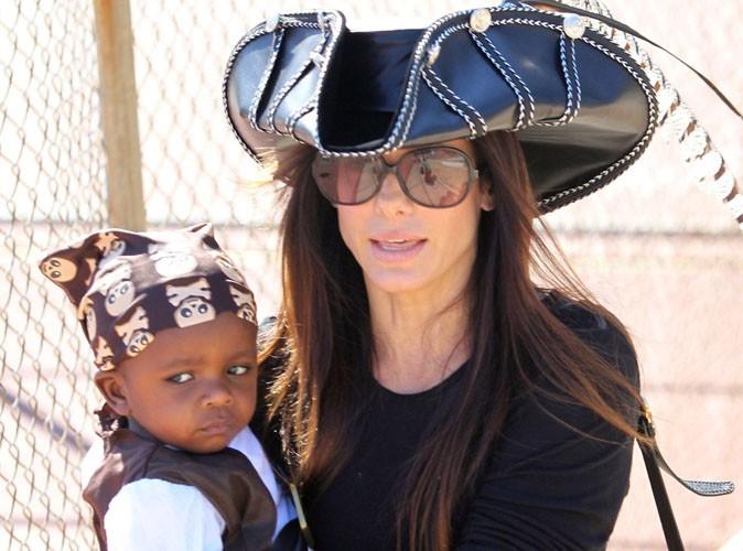 Sandra Bullock : son fils d'un an déjà propriétaire d'un tableau d'Andy Warhol !