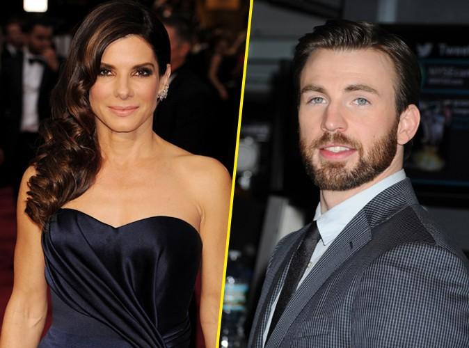 Sandra Bullock : un début de romance avec Chris Evans ?