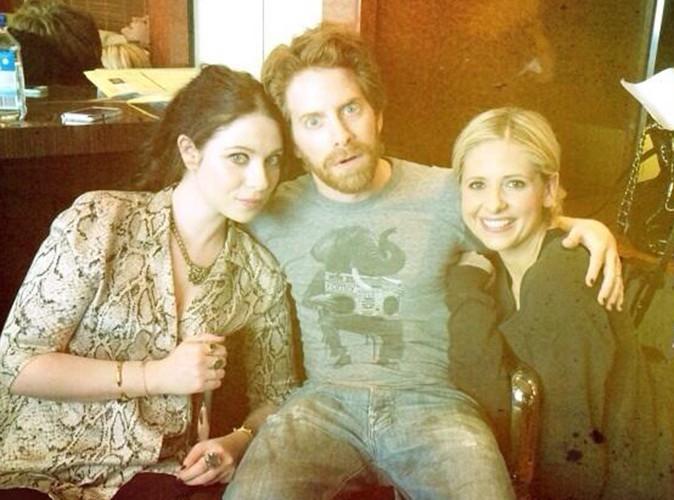 Sarah Michelle Gellar : Buffy réunie aux côtés de Michelle Trachtenberg et de Seth Green !