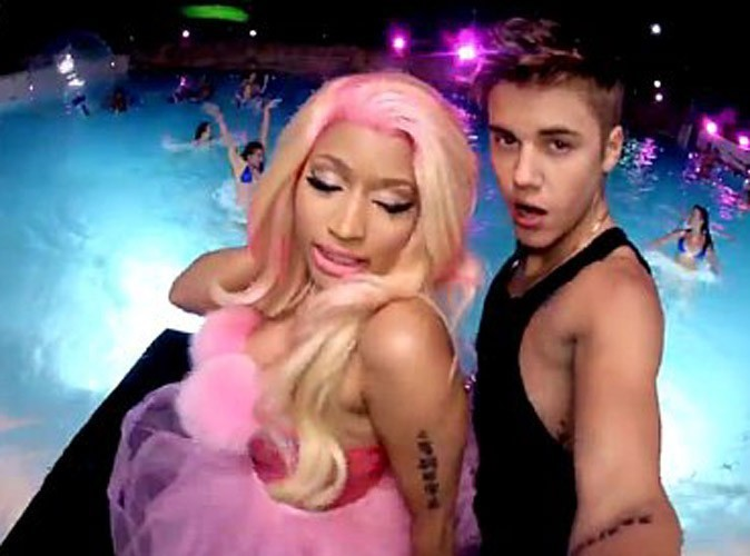 Justin et Nicki MInaj mettent le feu !