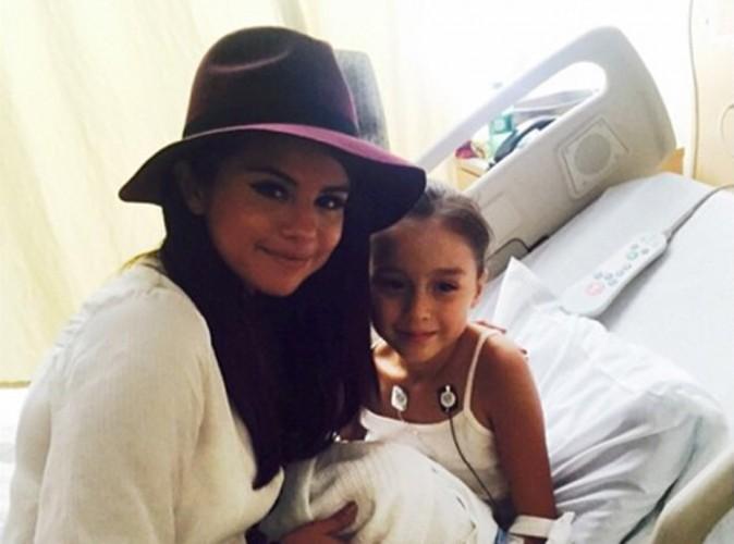 Selena Gomez : de retour à l'hôpital !