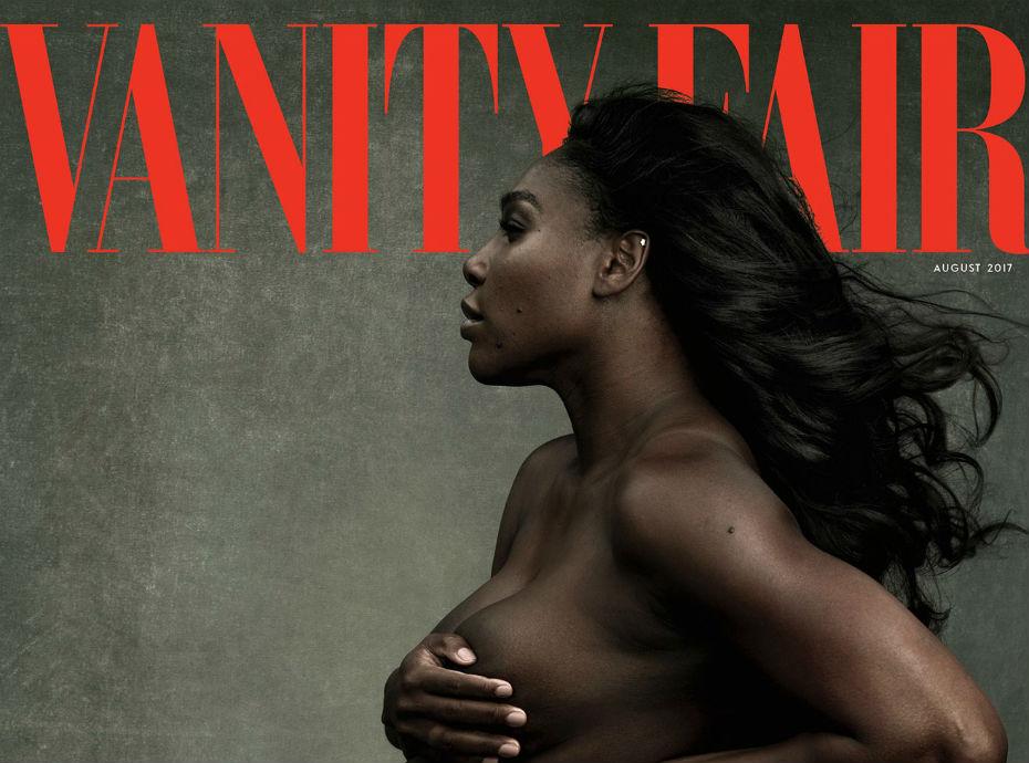 Serena Williams pose nue et enceinte pour Annie Leibovitz !