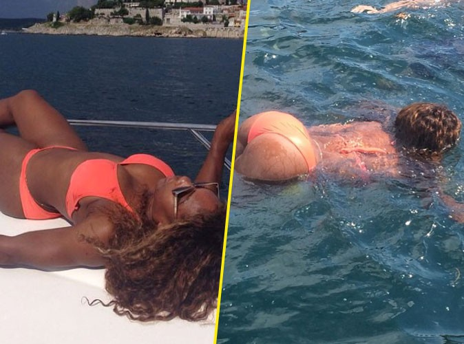 Serena Williams : vu le big booty en Croatie !