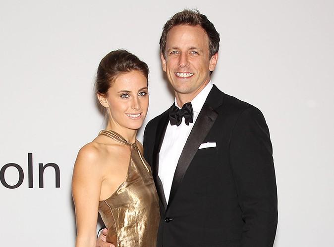 Seth Meyers : l'humoriste s'est marié à sa chérie Alexi Ashe !