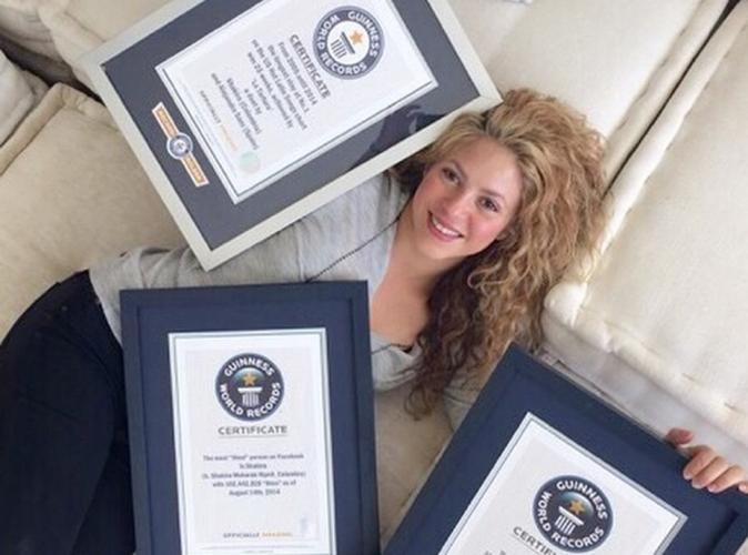 Shakira : plusieurs fois championne du Guinness World Record !