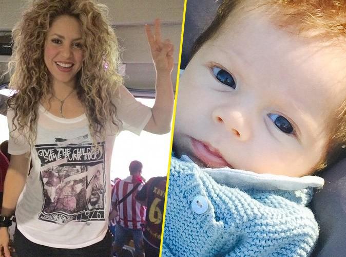 Shakira : son fils Sasha f�te ses 6 mois, une vraie graine de champion (vid�o) !