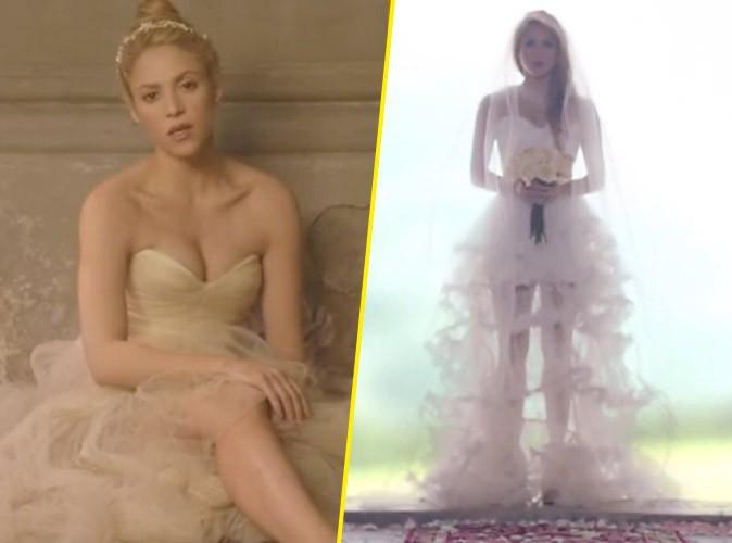 Shakira : une magnifique mariée fugueuse dans son nouveau clip Empire !
