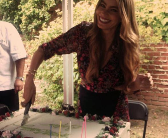 Sofia Vergara : 41 ans et presque autant de cadeaux !