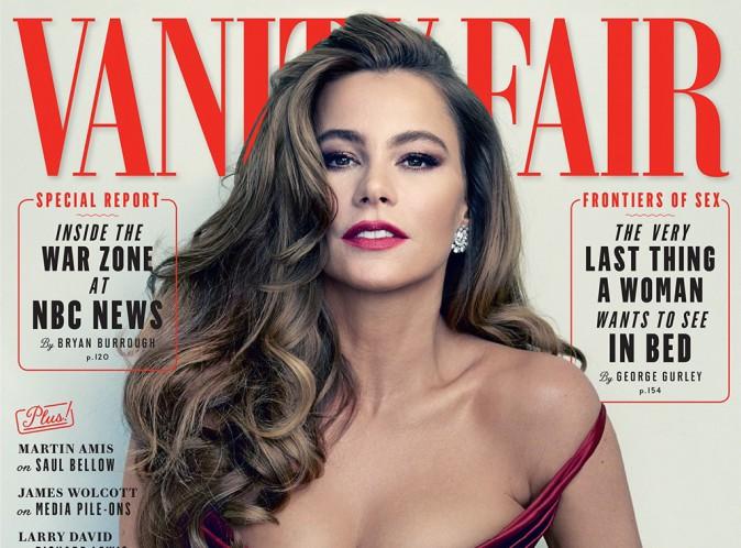Sofia Vergara : sublime pour Vanity Fair, elle se confie sur son fiancé !