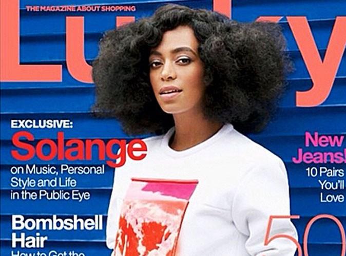 Solange Knowles : elle pose pour Lucky Magazine et se confie sur sa bagarre avec Jay Z !