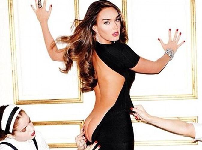 Tamara Ecclestone : la riche héritière anglaise offre un avant-goût hot de son shooting pour Playboy !