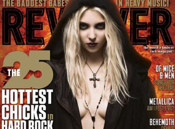 Taylor Momsen : toujours plus provoc', elle s'offre une nouvelle couverture trash !