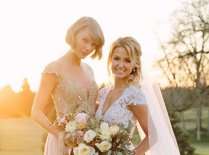 Taylor  Swift : découvrez son touchant discours de demoiselle d'honneur au mariage de sa BFF Britany Maack
