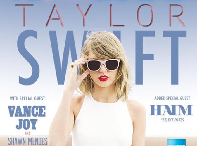 Taylor Swift : elle invite ses meilleures amies sur sa tournée mondiale !