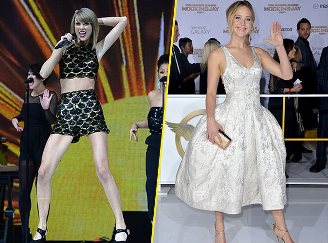 Taylor Swift et Jennifer Lawrence : grandes gagnantes des People's Choice Awards 2015, découvrez le palmarès complet !