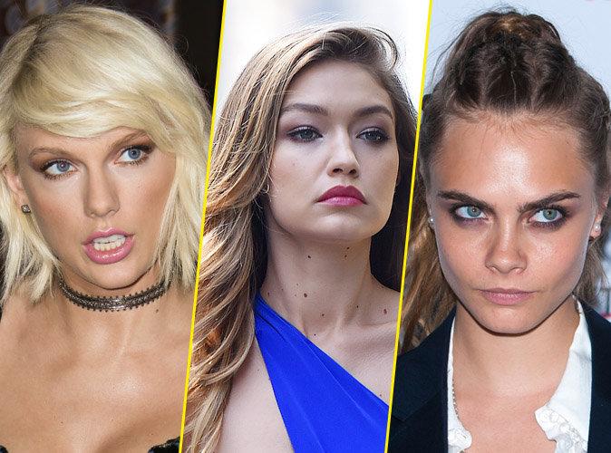 Taylor Swift, Gigi Hadid et Cara Delevingne menacées de mort sur Twitter !
