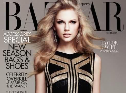 Taylor Swift : le look beauté fatale lui va plutôt pas mal...
