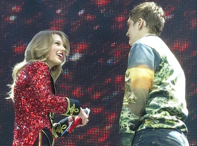 Taylor Swift : un fan perturbe son concert londonien, mais elle garde le sourire !