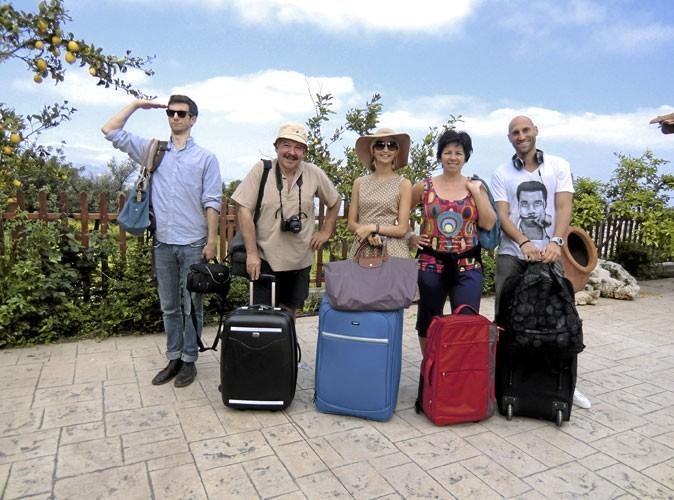 Télé : 5 touristes en vadrouille sur France 2 !