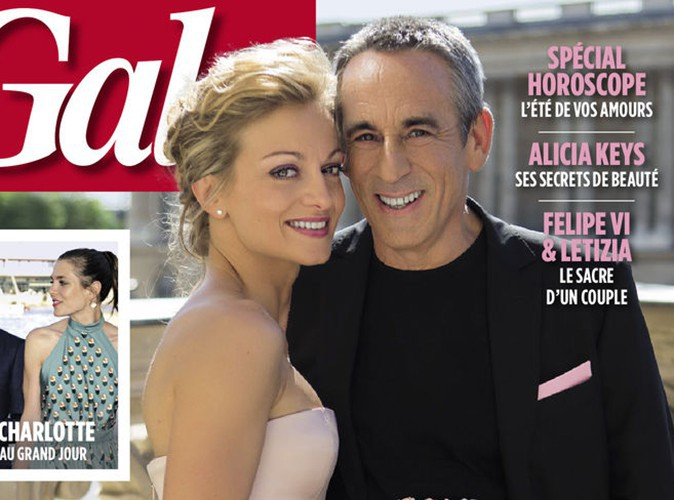 """Thierry Ardisson et Audrey : """"Le mariage reste une ultime preuve d'amour !"""""""