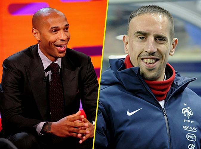 """Thierry Henry : """"Si j'avais un fils, je lui dirais de regarder ce que fait Ribéry !"""""""