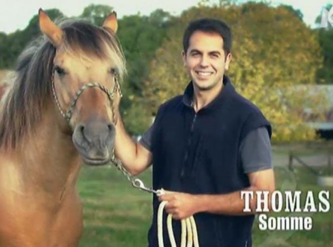 """Thomas Menant (L'amour est dans le pré 8) : M6 ne soutient pas la version de l'éleveur accusé de """"sévices graves et actes de cruauté"""" envers un de ses chevaux !"""