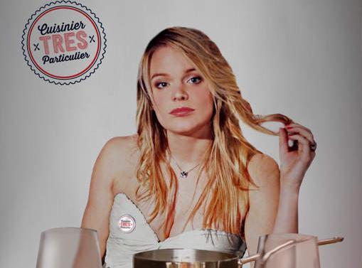 Tiffany (Top Chef) : nue sous son tablier et les fesses à l'air, l'ex-candidate révolutionne le service à domicile !
