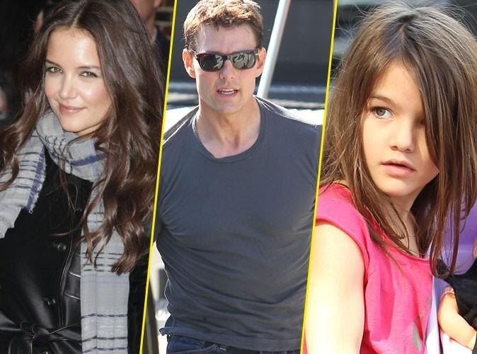 Tom Cruise et Katie Holmes : ils s'éclatent à la patinoire avec Suri !