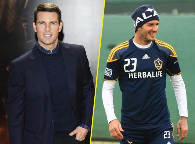Tom Cruise : il veut faire de David Beckham une star du cinéma !