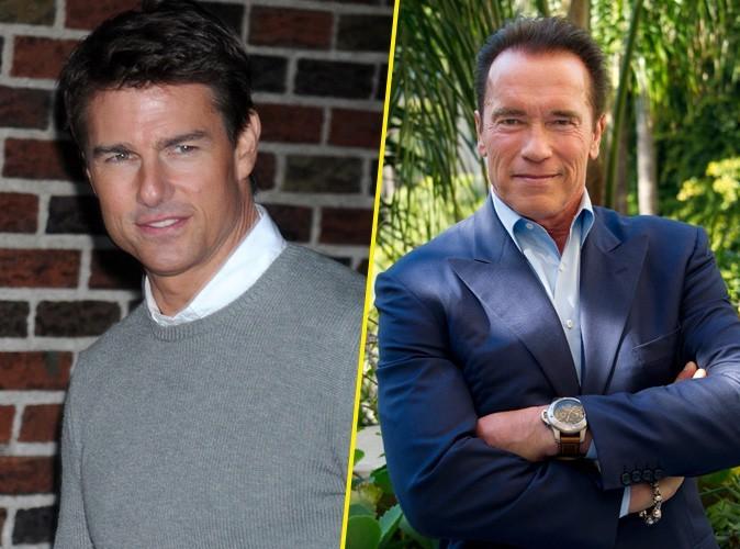 """Tom Cruise : """"Si ce p***** d'Arnold peut être gouverneur, je pourrais être président !"""""""