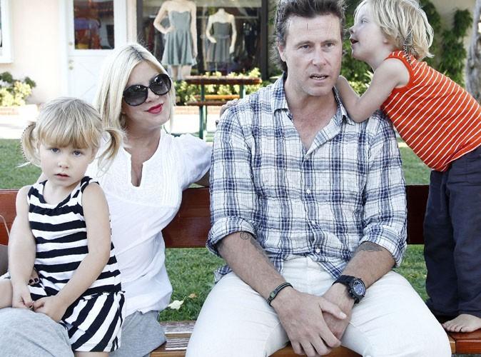 Tori Spelling : tellement heureuse avec sa petite famille !