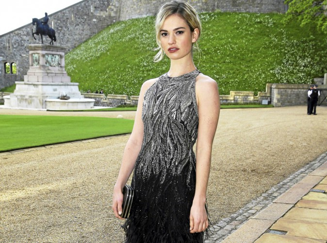 TV : Lily James : La it girl de Downton Abbey !