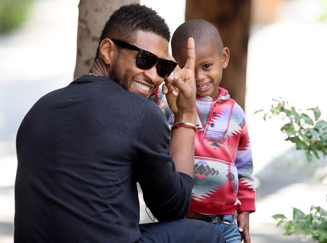 Usher : son fils transporté en soins intensifs !