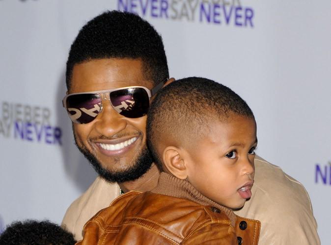 Usher : son fils va beaucoup mieux !