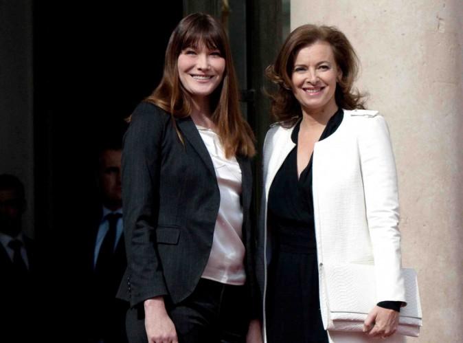 Valérie Trierweiler : dans son livre, elle dévoile aussi une confidence que lui a faite Carla Bruni !
